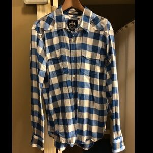 Express Flannel Casual Button Down